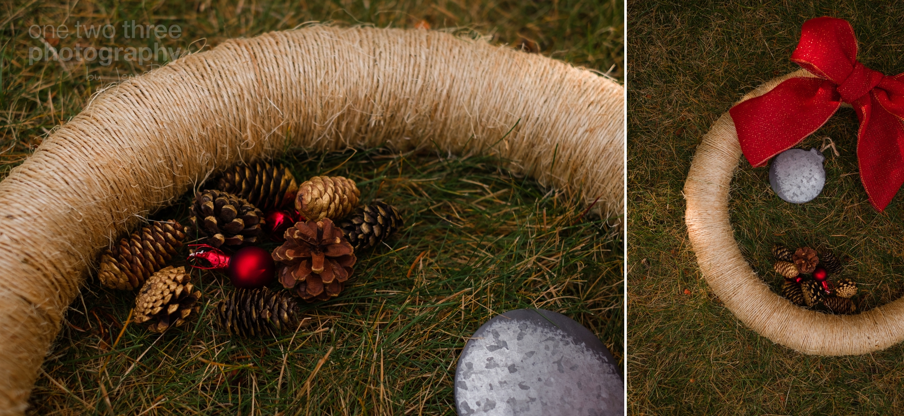 Details of the DIY Wreath Kit sold by Bramble Handmade